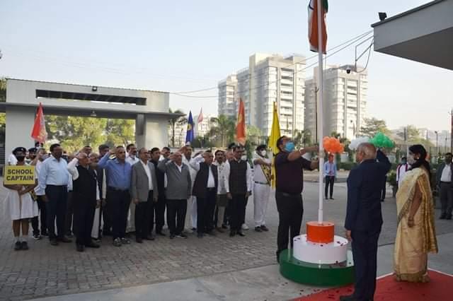 Agarwal Vidya Vihar celebrated the 72nd Republic Day