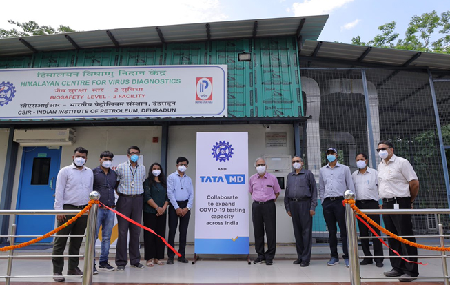 CSIR and Tata MD partners to augment COVID-19 testing