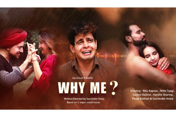 Actor Sachin Vashist has seen in Youtube Series- Why Me?
