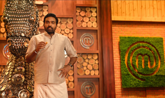 Vijay Sethupathi dons a traditional look in this new promo of Masterchef Tamil