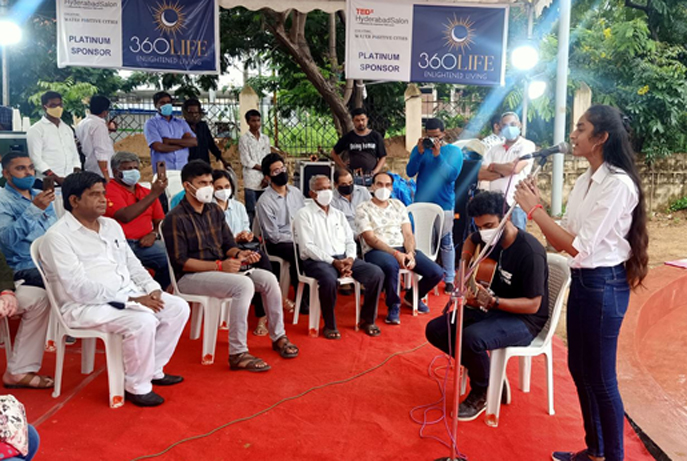 TEDx Hyderabad Salon on Creating Water Positive Cities held